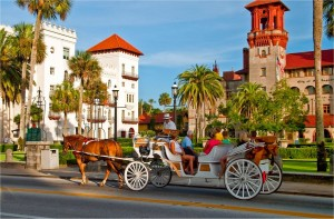 St Augustine Horse Drawn Carriage