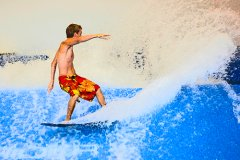 Fantasy Surf in Kissimmee - practice your surfing skills indoors in all weathers