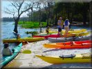 Lake Louisa State Park - canoeing on the lakes is an excellent alternative to theme parks