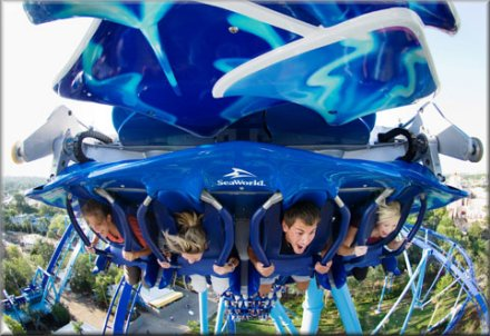 SeaWorld - Manta Flying Watercoaster