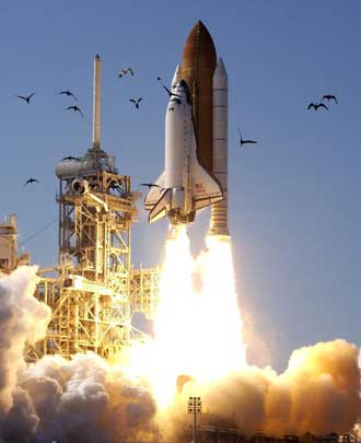 NASA Cape Canaverel - Space Shuttle Launch