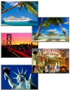Fancy a cruise, Caribbean island, San Francisco, Las Vegas or New York as a 2 centre holiday with Orlando