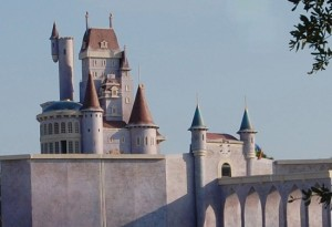 Be My Guest restaurant will be in the all new Beast's Castle