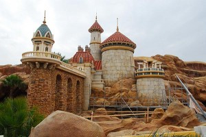 Disney Fantasyland - the all new Prince Eric's Castle