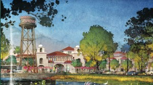Disney Springs schematic view