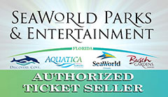 SeaWorld Parks authroised ticket seller