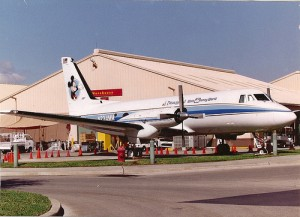 Walt Disney's Private Plane used to scout Orlando from the air