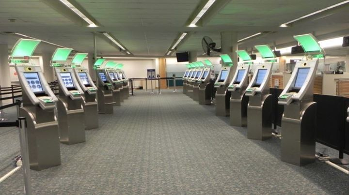 Automated Passport Control (APC) kiosks at MCO