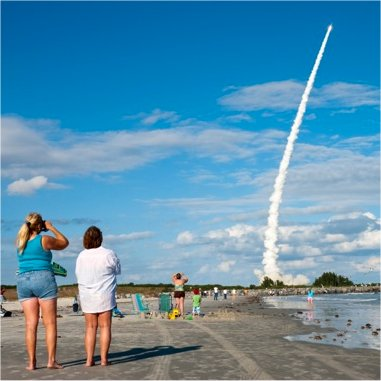Cocoa Beach - NASA Launch