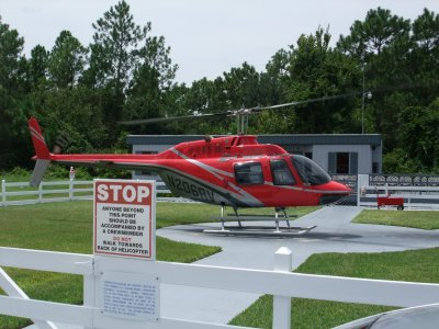 Orlando Helitours Helicopter located in Kissimmee