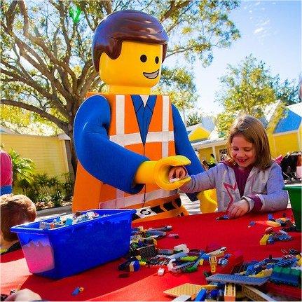 Interactive play at LEGOLAND Florida