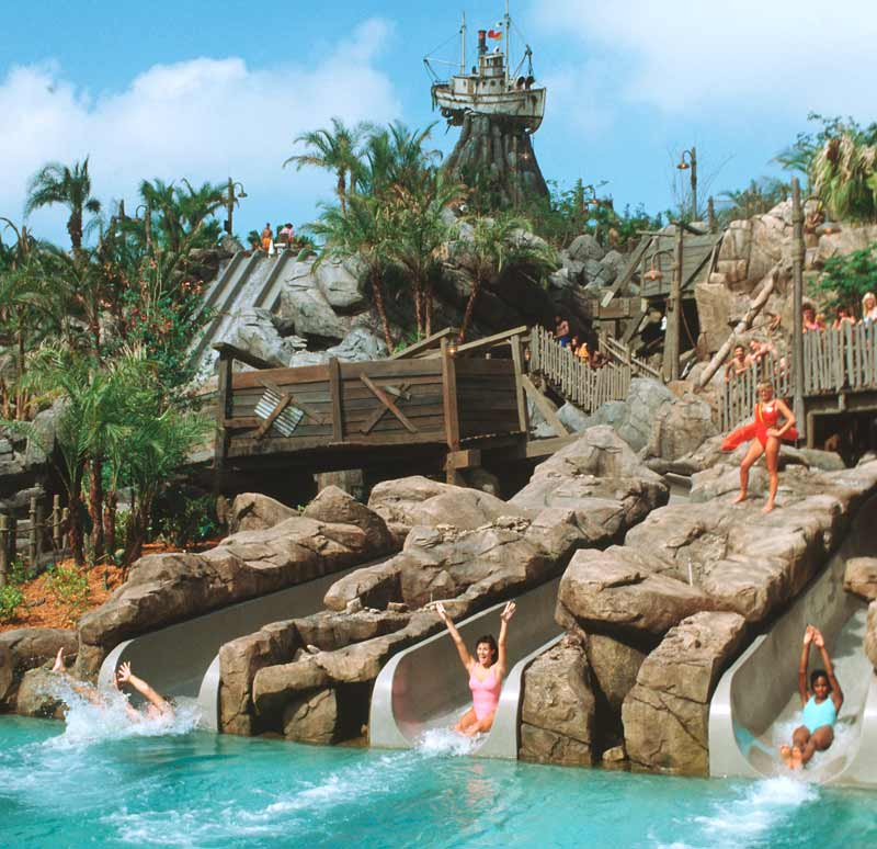 Disney Typhoon Lagoon Waterslides