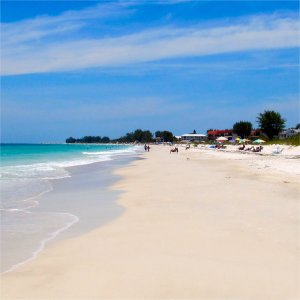 Spectacular beaches on Anna Maria Island