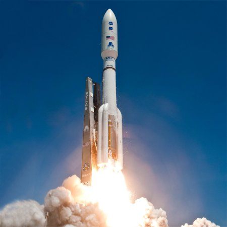 Atlas Rocket Launch at Kennedy Space Centre Florida