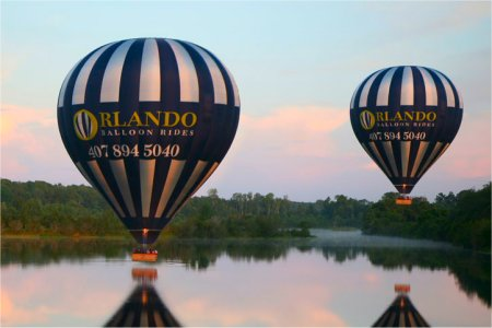 Balloon rides over Orlando