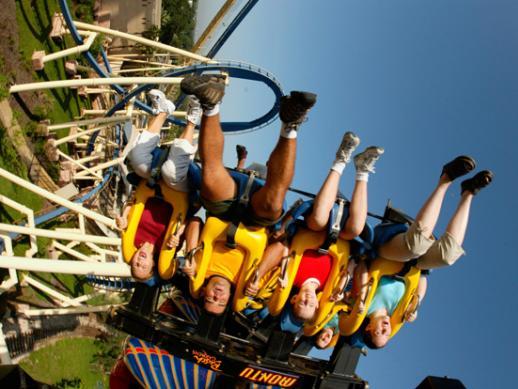 Busch Gardens Rollercoasters