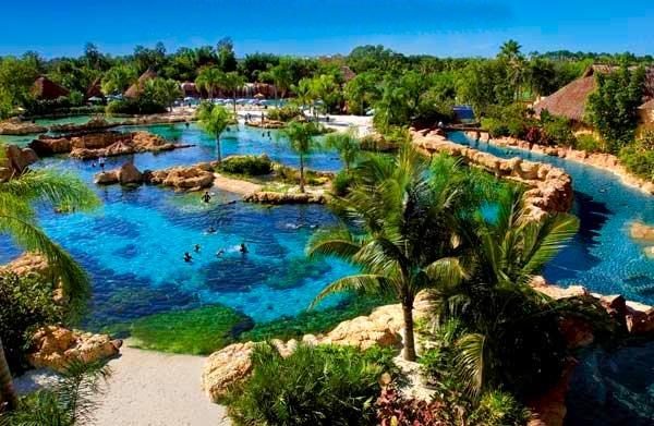 Discovery Cove Orlando Lagoon