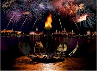 Disney Epcot IllumiNations Reflections of Earth fireworks show
