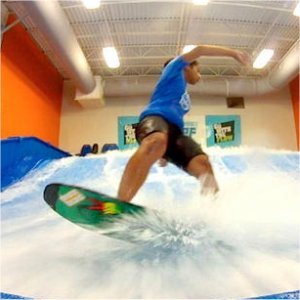 Hone your skills at Fantasy Surf Flowrider