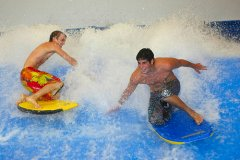 Fancy a challenge on a Flowrider