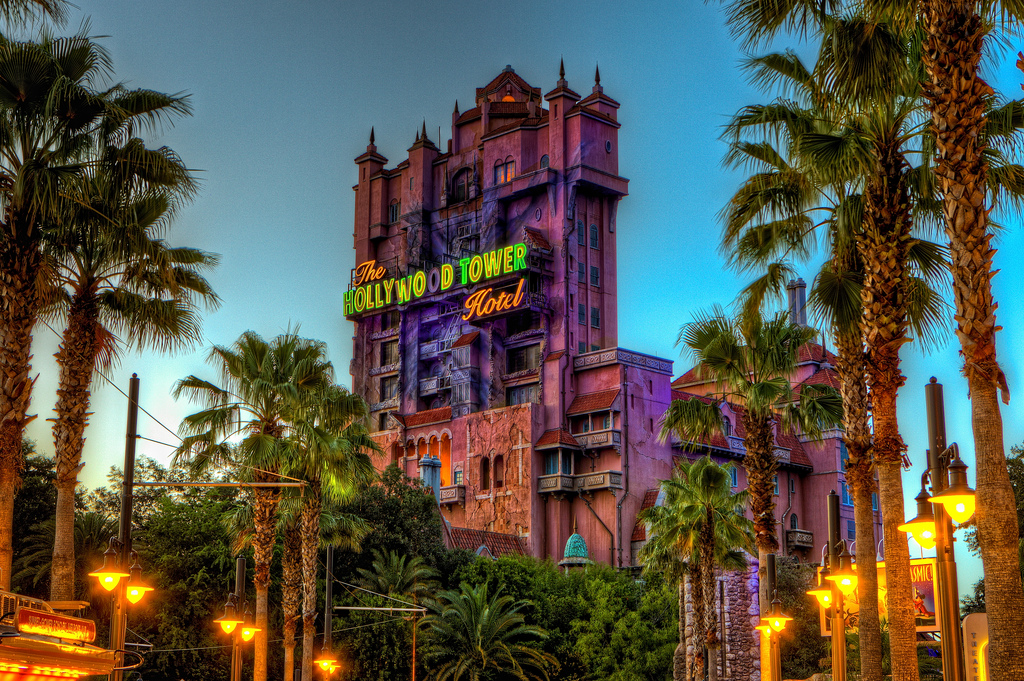 Tower of Terror at Disney Hollywood Studio