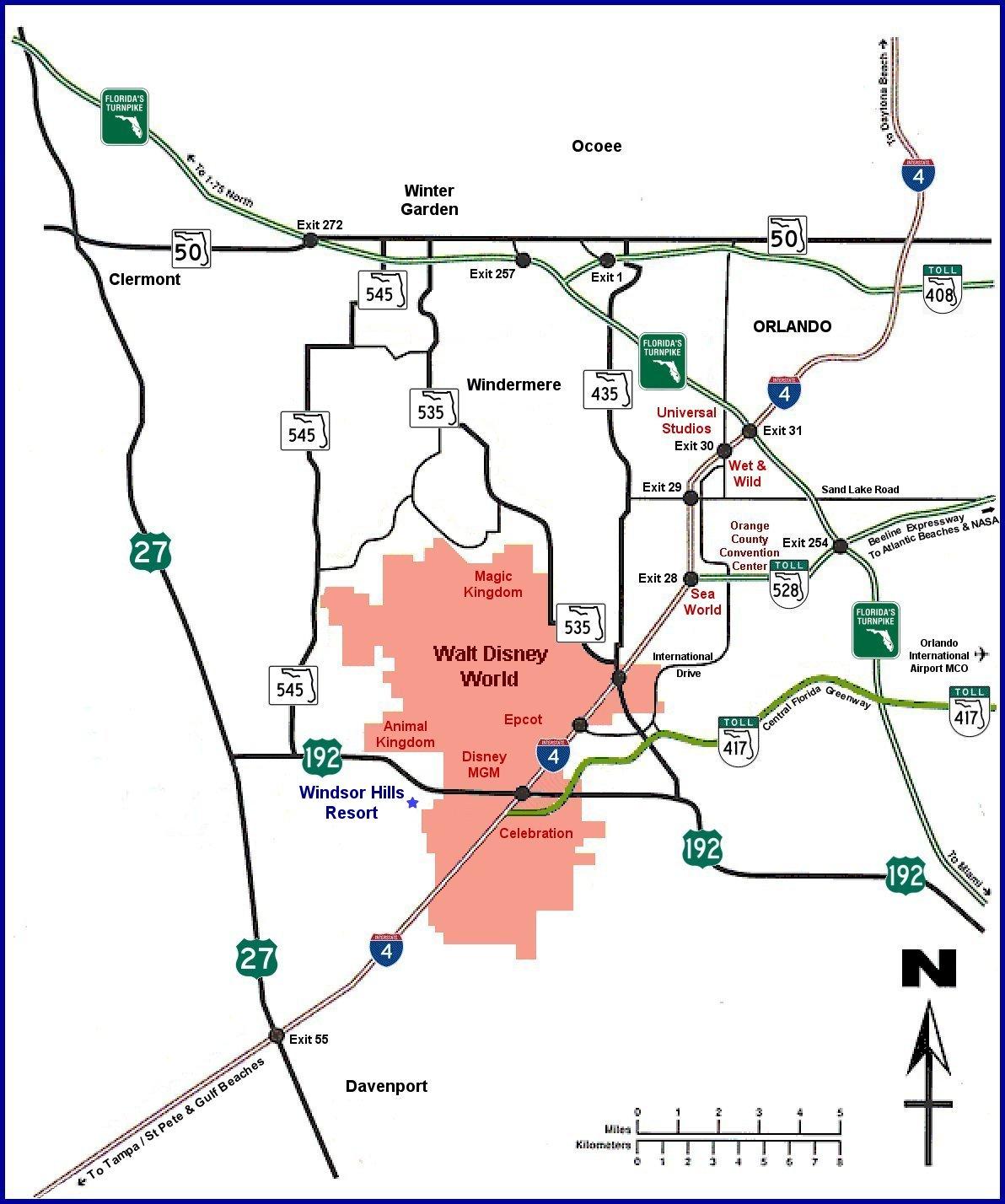 Windsor Hills Map