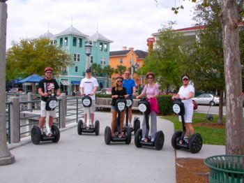 Exploring Celebration on a Segway