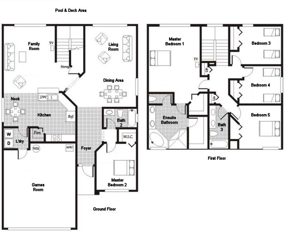 Monticello 8 Floorplan