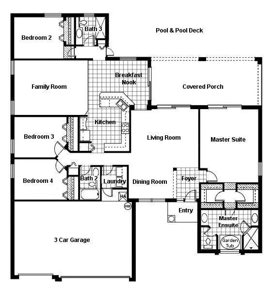 Monterey 1 Floorplan