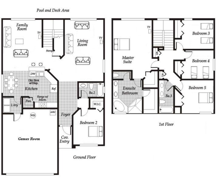 Monticello 2 Floorplan