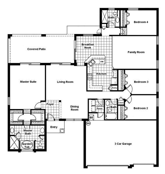 Monterey 2 Floorplan