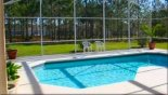 Villa rentals near Disney direct with owner, check out the Our pool with wonderful conservation view
