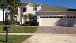 Spacious rental Highlands Reserve Villa in Orlando complete with stunning Front View