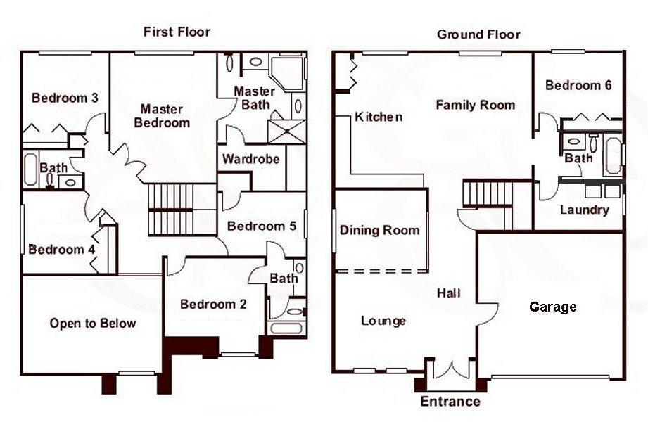 Birchwood + 2 Floorplan