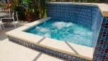 Villa rentals in Orlando, check out the Spa can seat many people
