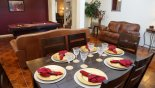 Villa rentals near Disney direct with owner, check out the Dining room