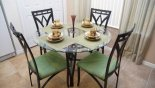Orlando Villa for rent direct from owner, check out the Breakfast nook seating 4