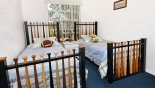 Madison + 2 Villa rental near Disney with Baseball themed twin bedroom 5