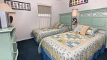 Villa rentals in Orlando, check out the Twin bedroom 3