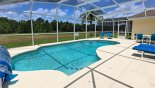 Orlando Villa for rent direct from owner, check out the Pool with conservation views