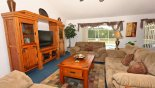 Madison + 2 Villa rental near Disney with Family room with 42'' flat screen cable TV