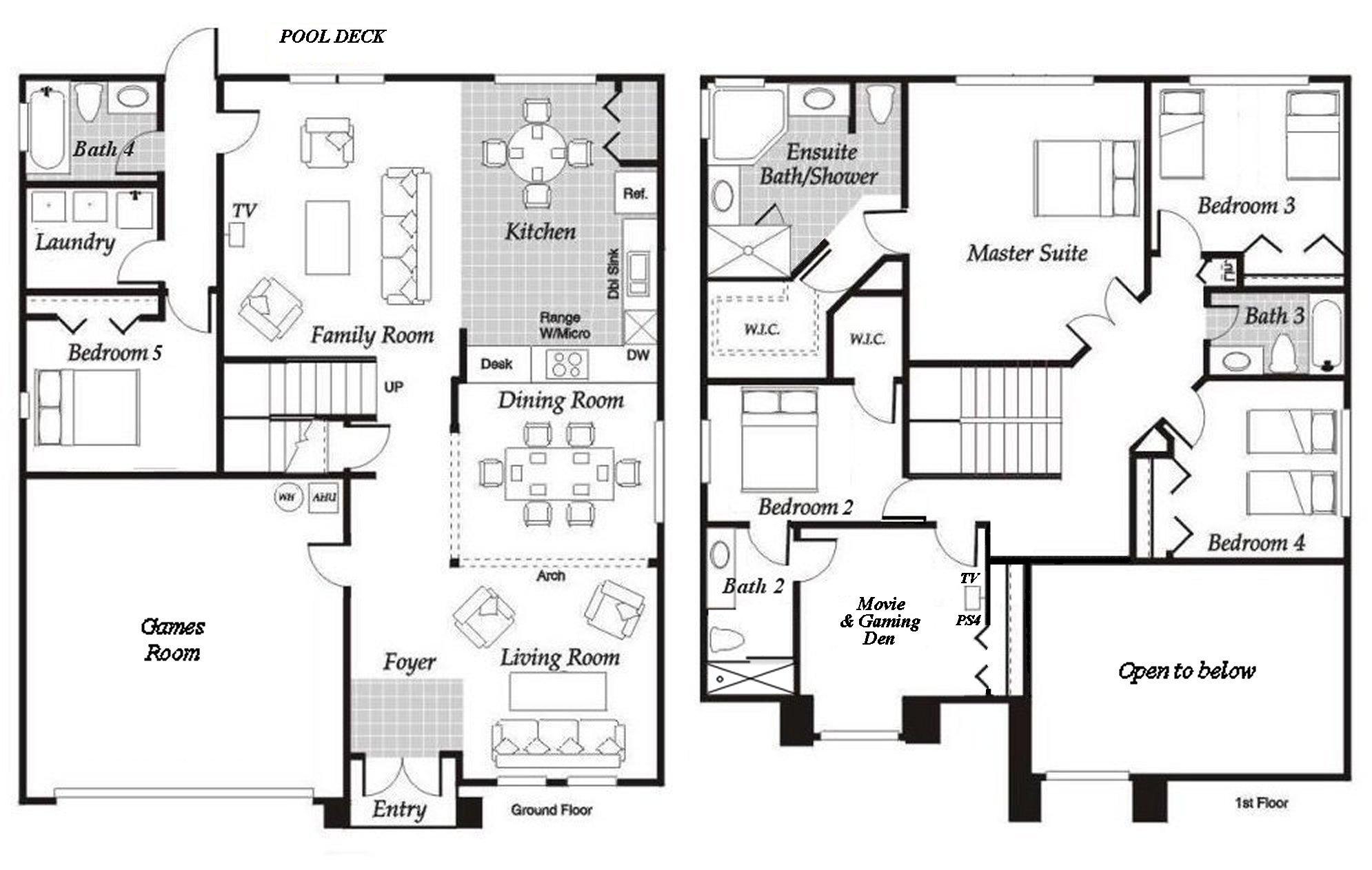 Birchwood + 1 Floorplan
