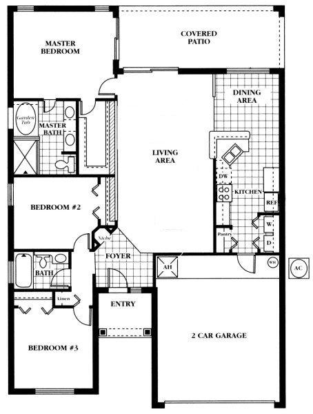 Newton 1 Floorplan