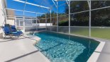 Nice private pool deck with conservation views - www.iwantavilla.com is the best in Orlando vacation Villa rentals
