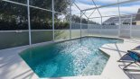 Nice private pool deck with conservation views from Highlands Reserve rental Villa direct from owner