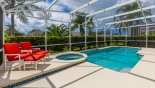 Villa rentals in Orlando, check out the Very private pool deck