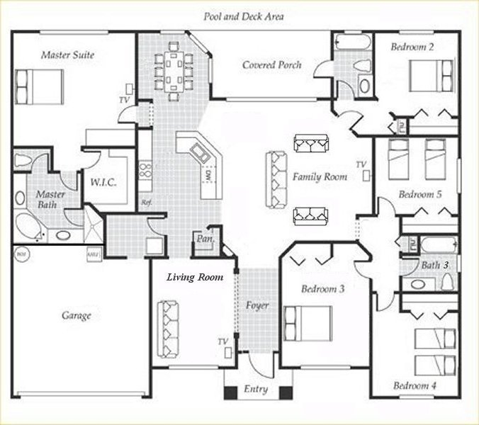 Emerald + 7 Floorplan