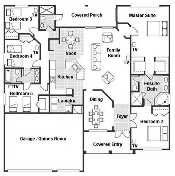 Dartmouth 3 Floorplan