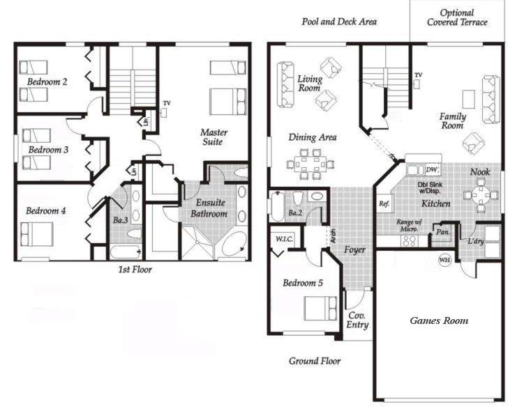 Monticello 1 Floorplan
