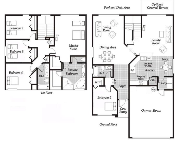 Monticello 1 Floorplan